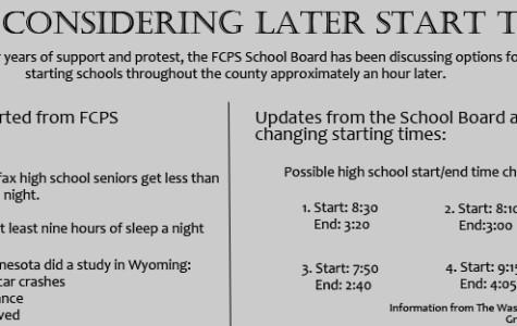 FCPS considering later start times