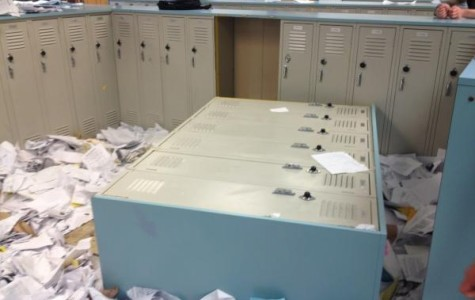 Fallen lockers are not a reason to ban the Paper Toss, Meier said.