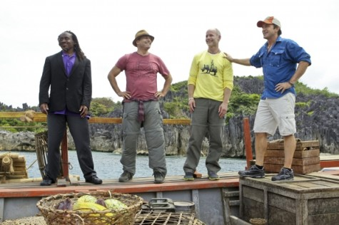 You should probably use this Survivor photo since it is important to the episode