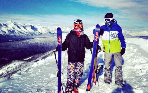 Students hit the slopes