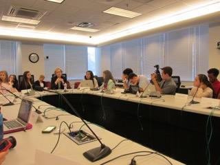 Garza talks 2017 budget at student press conference