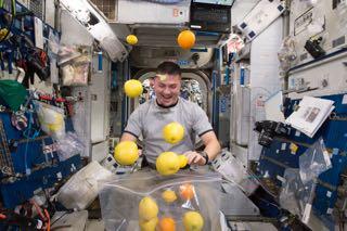 Robinson Livestreams With Astronaut Kjell Lindgren