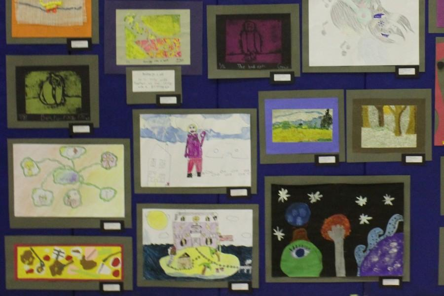 Robinson Displays Students Work in Annual Art Show