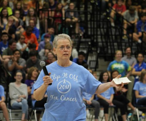Dr. March inspires students with life story
