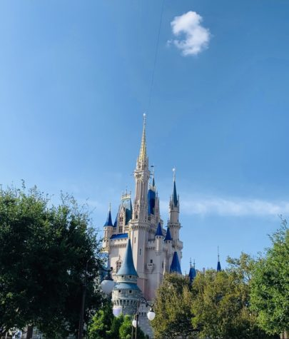 A view of the Cinderella Castle at Walt Disney World.