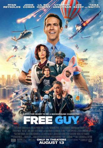 Free Guy movie poster.